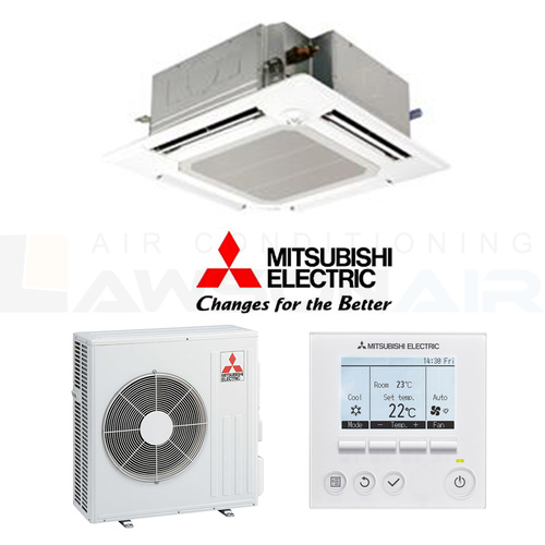 Mitsubishi Electric 6.1kW Wireless PLA-RP60BAR 4-Way Cassette
