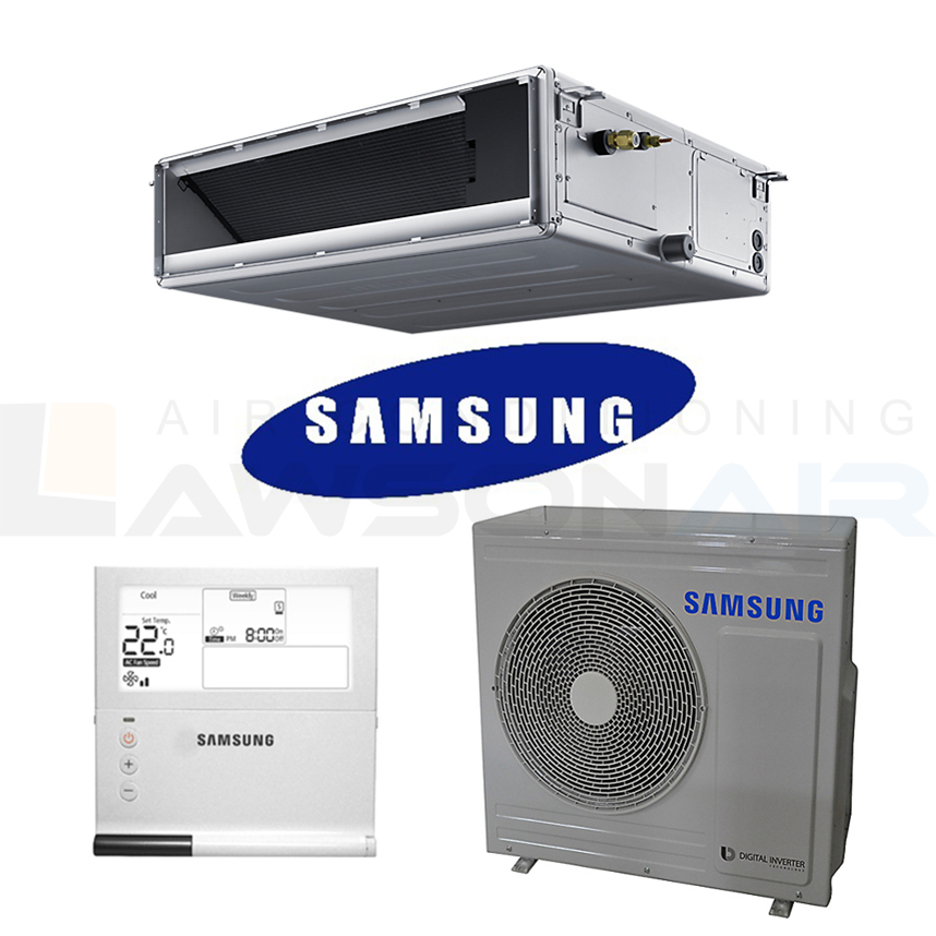 Samsung Ac071h 7 1kw 1 Phase Ducted Air Conditioner