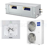 Haier 14.0kW ADH140 1 Phase Med Static Ducted Unit