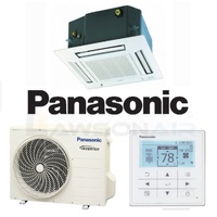 Panasonic CSCU-E12QB4RW 3.4 kW Wired Mini-Cassette System