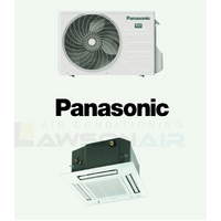 Panasonic CSCU-Z35UB4RAW 3.5 kW 4-Way Mini-Cassette System