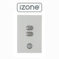 iZone Smart Home 2 Button iLight Switch