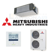 Mitsubishi Heavy Industries FDUA125VSXVF-RC-EX3 12.5 kW Ducted System