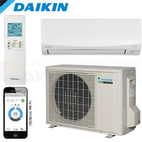 Daikin Cora FTKM25Q 2.5kW Cooling Only Wall Split System, Optional Wifi Adaptor