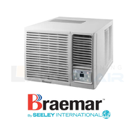 Braemar KWHF60D1S 6.0kW R32 Reverse Cycle Window Wall System