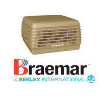 Braemar LCQI350 9.9kW Ducted Super Stealth Series Evaporative Cooler