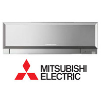 Silver Mitsubishi Electric MSZ-EF35VES-A1 Stylish Range Multi Indoor (head only)