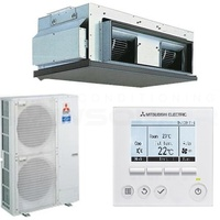 Mitsubishi Electric PEA-RP125GAA 12.5 kW 1 Phase Ducted Unit