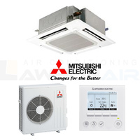 Mitsubishi Electric 6.1kW Wired PLA-RP60BAR 4-Way Cassette