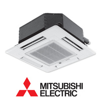 Mitsubishi Electric 5.0kW SLZ-KF50VA3.TH-A Compact Cassette Head With Wireless Fascia and Controller