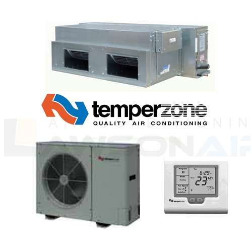 Temperzone ISD116KYXKIT Single Phase 11.4kW Ducted Split System