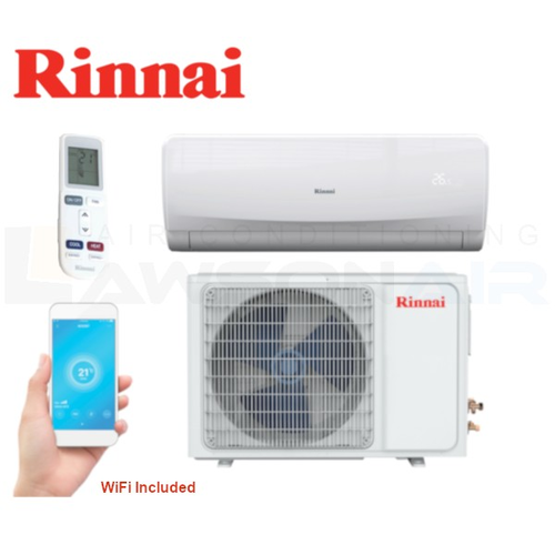 Rinnai RINV25RC G Series (Reverse Cycle) 2.5kW Inverter Split System